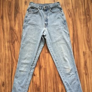 Vintage High Rise Jeans - Chic 10, runs small